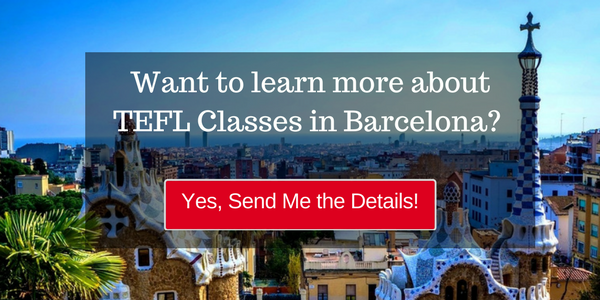 Learn more about teaching English abroad in Barcelona